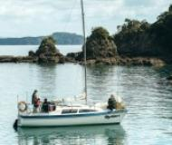 Sail boat Noelex 25 available for charter in Bay of Islands Marina