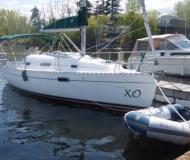 Segelyacht Oceanis 281 chartern in Plattsburgh City Marina