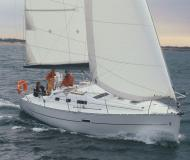 Sailing boat Oceanis 323 available for charter in Cagliari