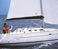 Sail boat Oceanis 323 Clipper available for charter in Marine Betina