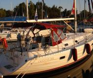 Sail boat Oceanis 361 available for charter in Alimos Marina Kalamaki