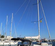 Sailing boat Oceanis 37 available for charter in Skopelos City