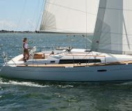 Sailing boat Oceanis 37 for hire in Port Hamble Marina