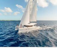 Cat Lagoon 39 for rent in Palm Cay Marina