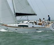 Sailing yacht Oceanis 40 for hire in Barcelona