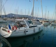 Sailing boat Oceanis 41 available for charter in Gouvia Marina