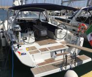 Segelyacht Oceanis 41 Yachtcharter in Tropea Marina