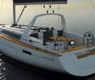 Segelyacht Oceanis 411 chartern in Marina Bas du Fort