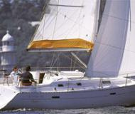 Sailing yacht Oceanis 411 for hire in Carloforte