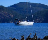 Sailing yacht Oceanis 423 for charter in Granville Island Boatyard