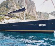 Sailing yacht Oceanis 423 for rent in Naples