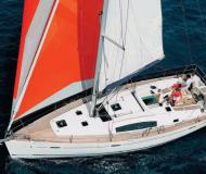 Sail boat Oceanis 43 available for charter in Denia