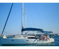 Sailing yacht Oceanis 43 for hire in Ibiza Town