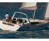 Sailing boat Oceanis 45 available for charter in Marti Marina