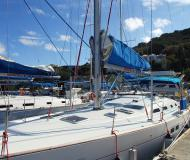 Sailing yacht Oceanis 473 for rent in Road Town