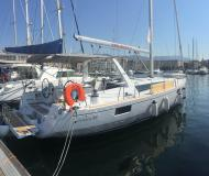 Sailing yacht Oceanis 48 available for charter in Palermo