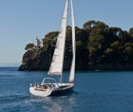 Sailing boat Oceanis 48 available for charter in Puntone