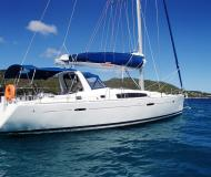 Sail boat Oceanis 50 Family available for charter in Manuel Reef Marina