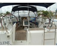 Sailing boat Oceanis 54 available for charter in Marina Bas du Fort