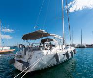 Yacht Oceanis 54 for hire in Athens
