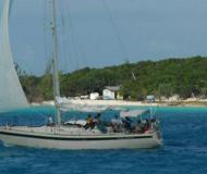 Sail boat Pearson 40 available for charter in Rock Sound City