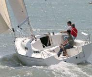 Yacht Sun 2500 available for charter in Yerseke Harbour