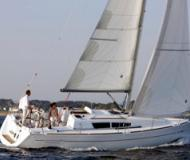 Yacht Sun Odyssey 33i for hire in Punda Marina