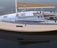 Sailing boat Sun Odyssey 349 available for charter in Port Pin Rolland