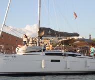 Sailing yacht Sun Odyssey 349 available for charter in Marina La Lonja