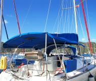 Sailing boat Sun Odyssey 36i for hire in Manuel Reef Marina