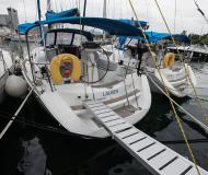 Yacht Sun Odyssey 36i available for charter in Volos Harbour