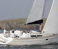 Sail boat Sun Odyssey 36i for hire in Old Port of Klaipeda