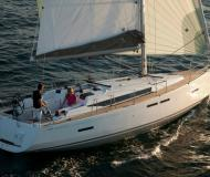 Sailing yacht Sun Odyssey 409 available for charter in Finikas Marina