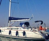 Sailing yacht Sun Odyssey 42i for hire in Skiathos main Harbour