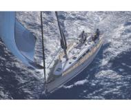 Sail boat Sun Odyssey 43 for hire in Skiathos main Harbour