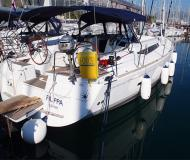 Sailing yacht Sun Odyssey 439 for hire in Seget