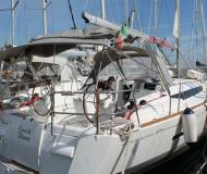 Sailing yacht Sun Odyssey 439 available for charter in Trapani