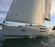 Yacht Sun Odyssey 439 available for charter in Keramoti Marina