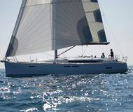Sailing yacht Sun Odyssey 439 for rent in Grand Harbour Marina