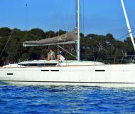Sailing yacht Sun Odyssey 449 available for charter in Mandraki marina