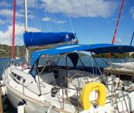 Sail boat Sun Odyssey 44i for hire in Manuel Reef Marina