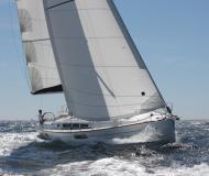 Sailing boat Sun Odyssey 44i available for charter in Clifton Harbour