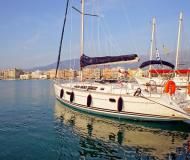 Sail boat Sun Odyssey 44i for hire in Volos Harbour