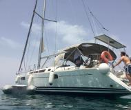 Sailing yacht Sun Odyssey 44i for rent in Lefkas