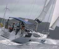 Sail boat Sun Odyssey 45DS for hire in Port Louis Marina