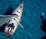 Sailing yacht Sun Odyssey 49DS for hire in Lefkas Marina