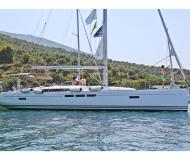 Sailing yacht Sun Odyssey 509 for hire in Volos Harbour