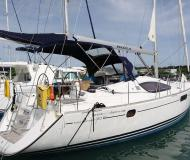 Sailing yacht Sun Odyssey 50DS available for charter in True Blue Bay Marina