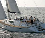 Sail boat Sun Odyssey 54 DS available for charter in Marina Le Marin