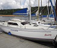 Sailing boat Tonic 23 for rent in Seespitz Absberg Harbour